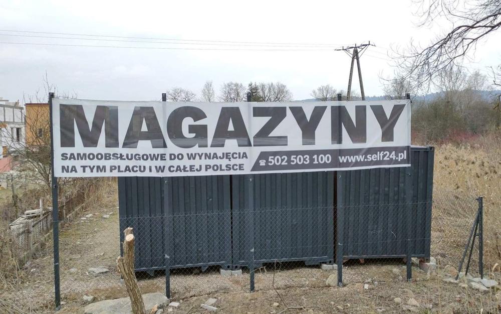 Magazyn Samoobsługowy Hala Duży Garaż do wynajęcia